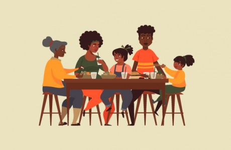 A seat at the African-American table: how social eating connects a community -