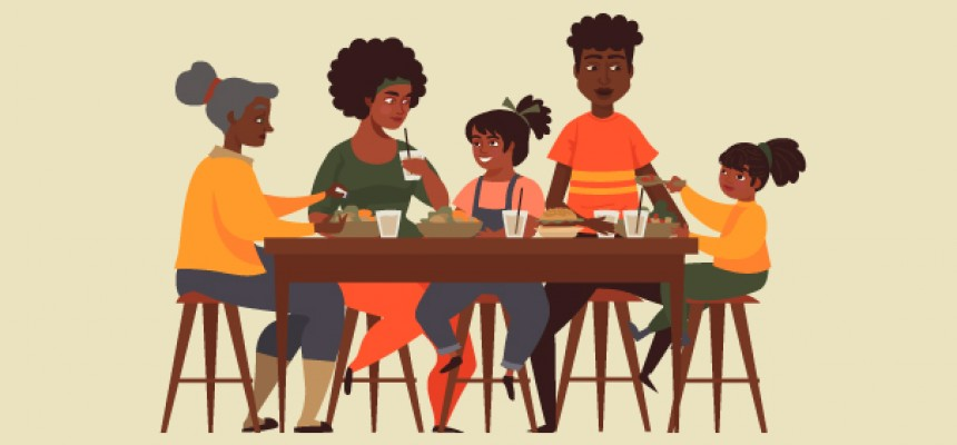 A seat at the African-American table: how social eating connects a community